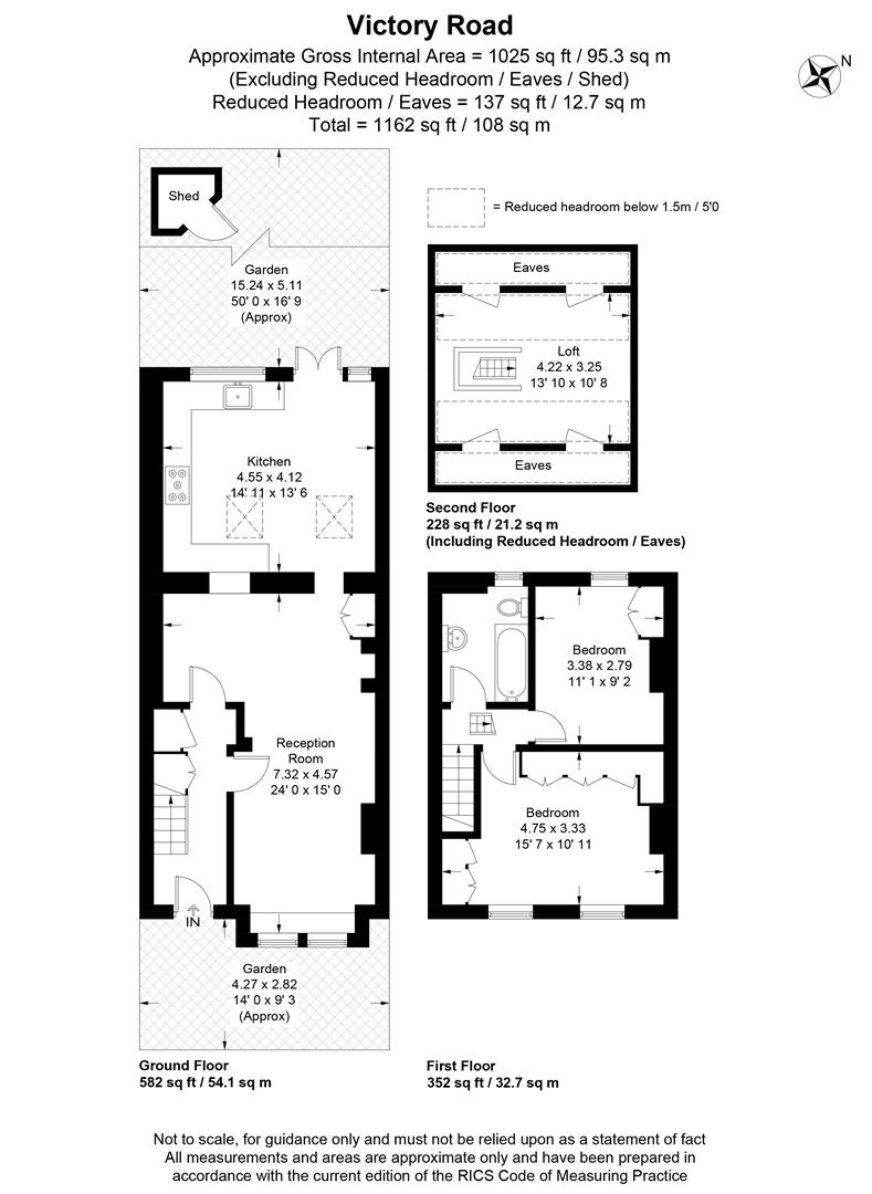 Floorplan for Victory Road, Wimbledon